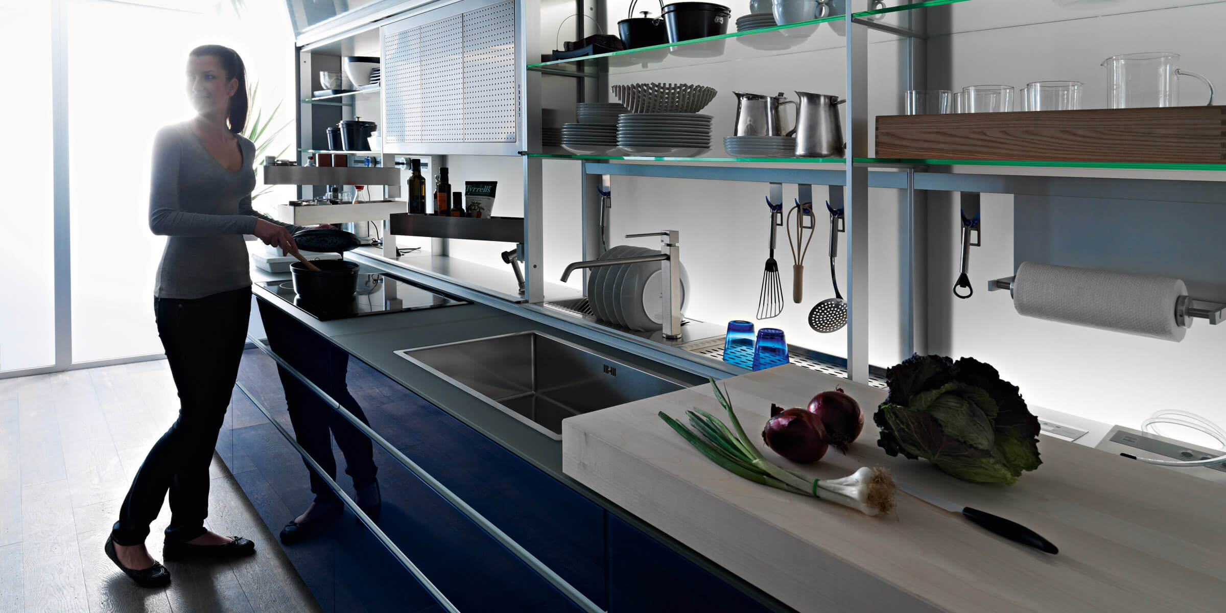 127 new logica system blu valcucine 6  - New Logica System
