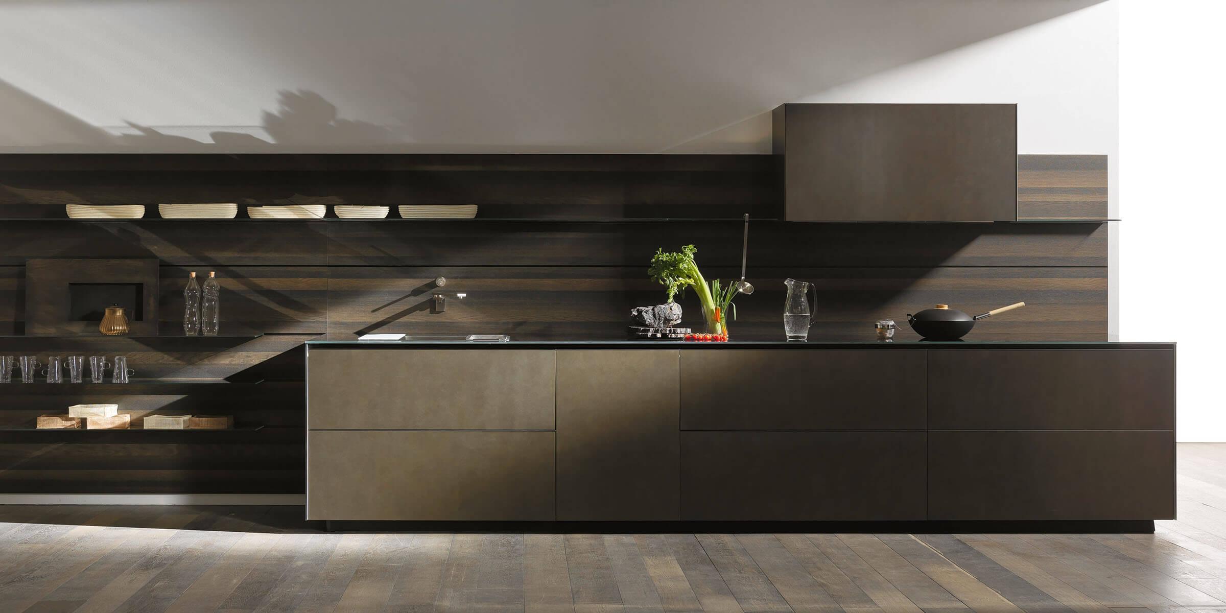 274 riciclantica inox touch valcucine 3  - Cocinas de Metal
