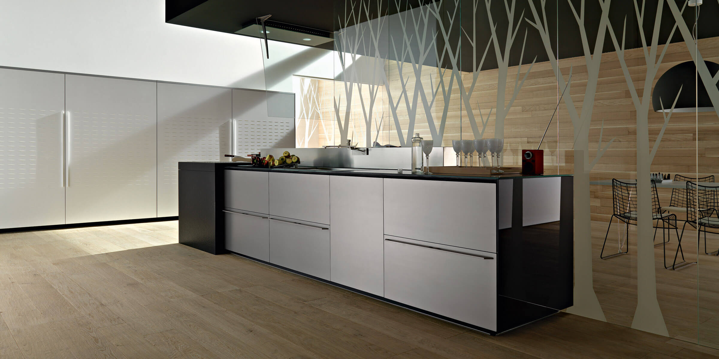 34 artematica multiline laminato alluminio finitura acciaio 2  - Cocinas Laminadas
